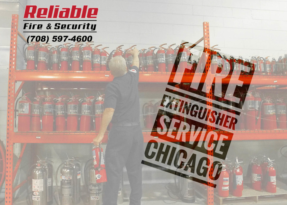Fire Extinguishers Chicago Reliable Fire and Security